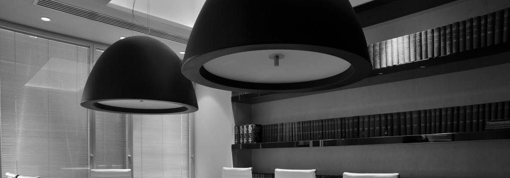 Conference Room Top Black & White